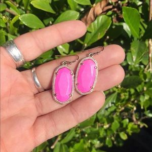 Kendra Scott Jewelry - Kendra Scott Magenta Dani Earrings